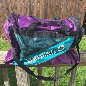Vintage 90's Spalding Gym Bag